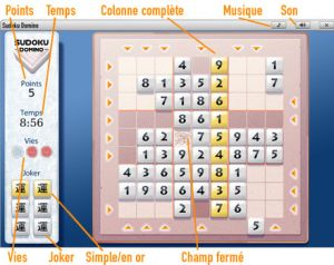 grille sudoku GameDuell