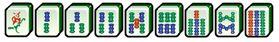 les bambous au mahjong