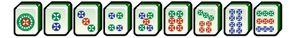 les cercles au mahjong